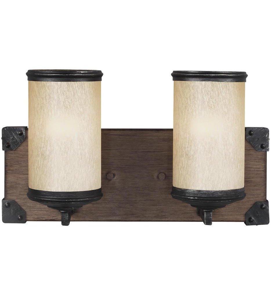 Dunning Two Light Wall / Bath