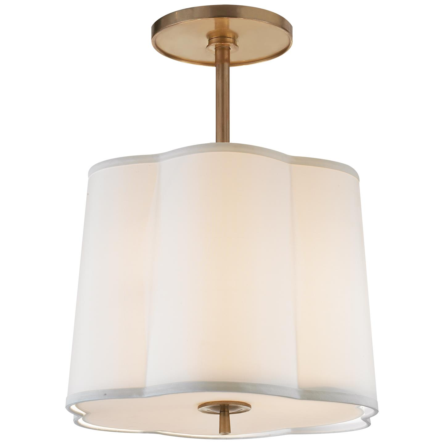 Simple Scallop Hanging Shade