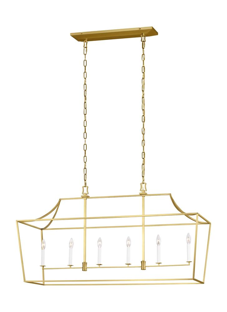 Southold 6 - Light Linear Lantern
