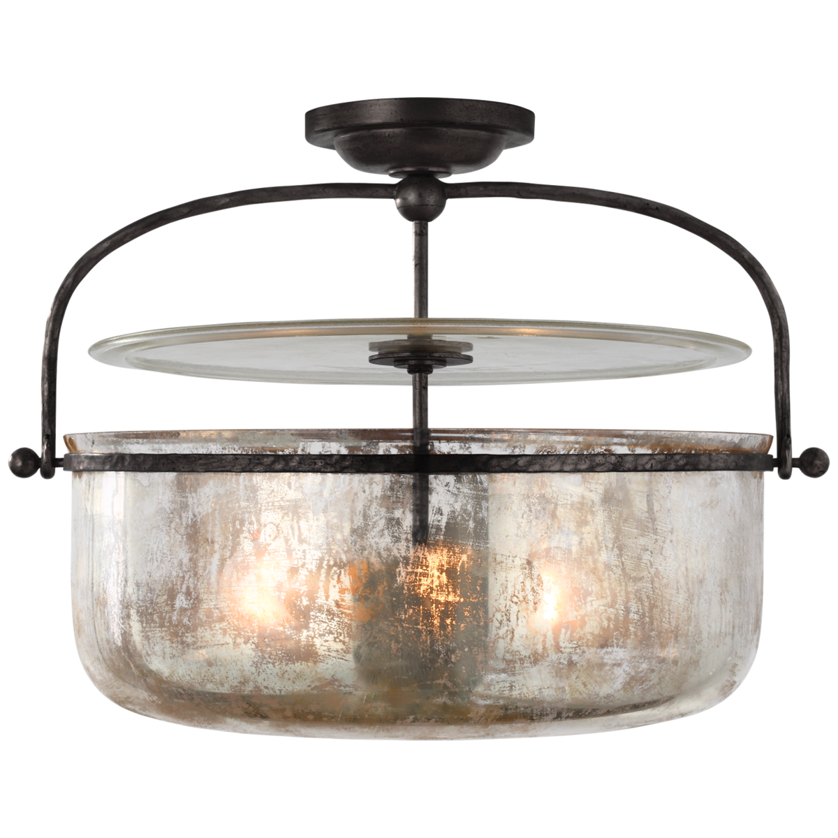 Lorford Medium Semi-Flush Lantern