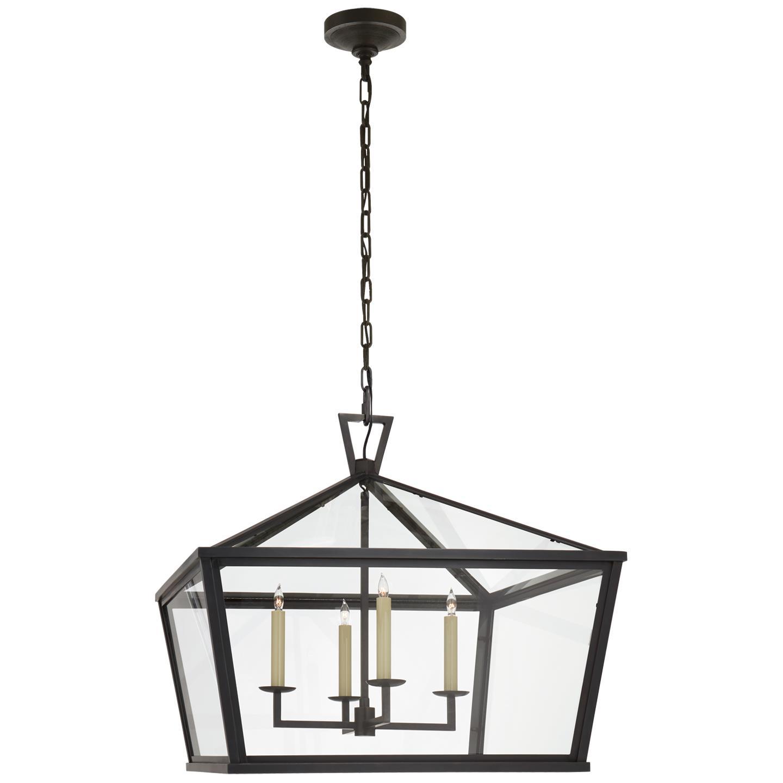 Darlana Medium Wide Hanging Lantern