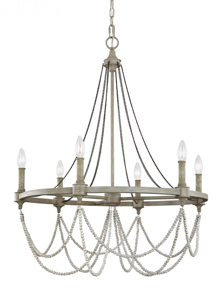 Beverly 6 - Light Chandelier