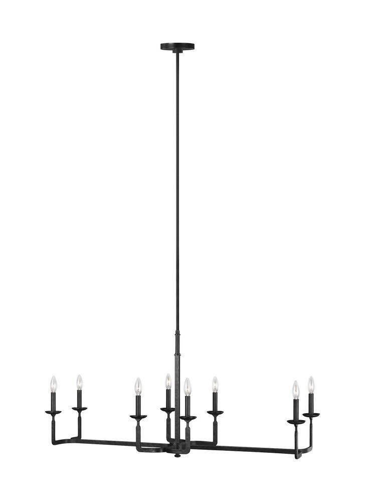 Ansley 8 - Light Linear Chandelier