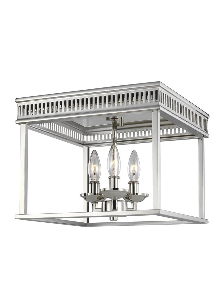 Woodruff 3 - Light Flush Mount