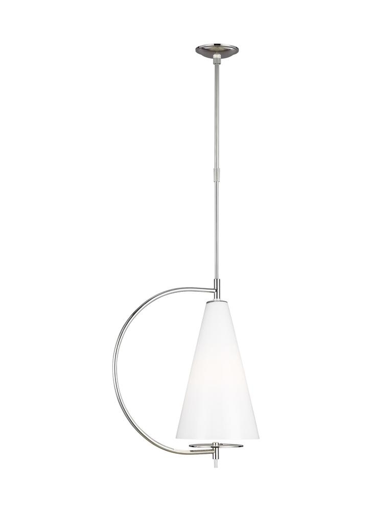 Gesture 1 - Light Tall Pendant