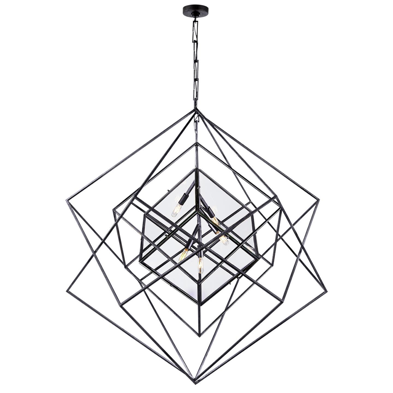 Cubist Large Chandelier