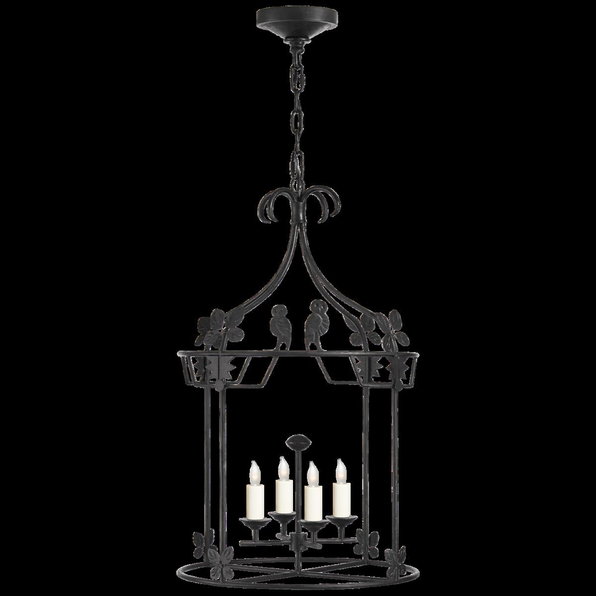 Luciano Medium Round Lantern
