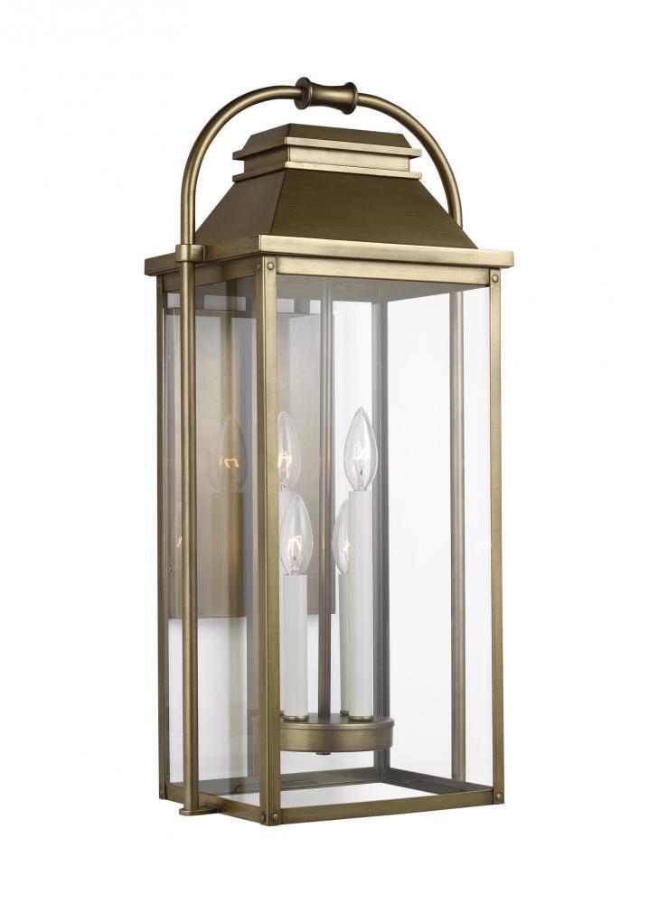 Wellsworth 4 - Light Outdoor Wall Lantern