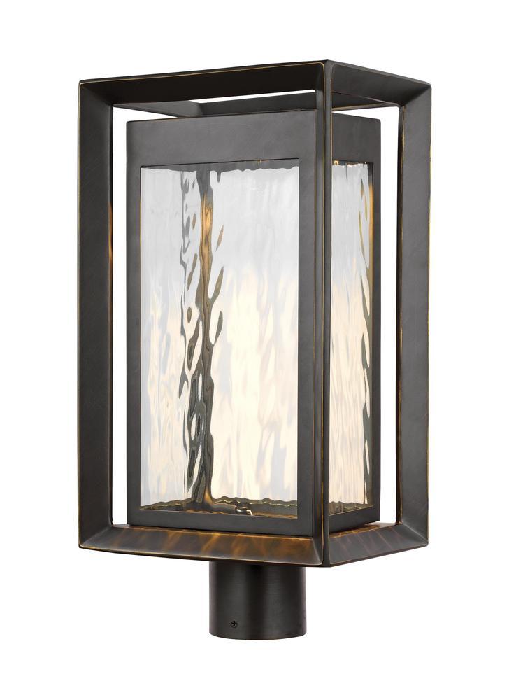 Urbandale 1 - Light Outdoor LED Post Lantern