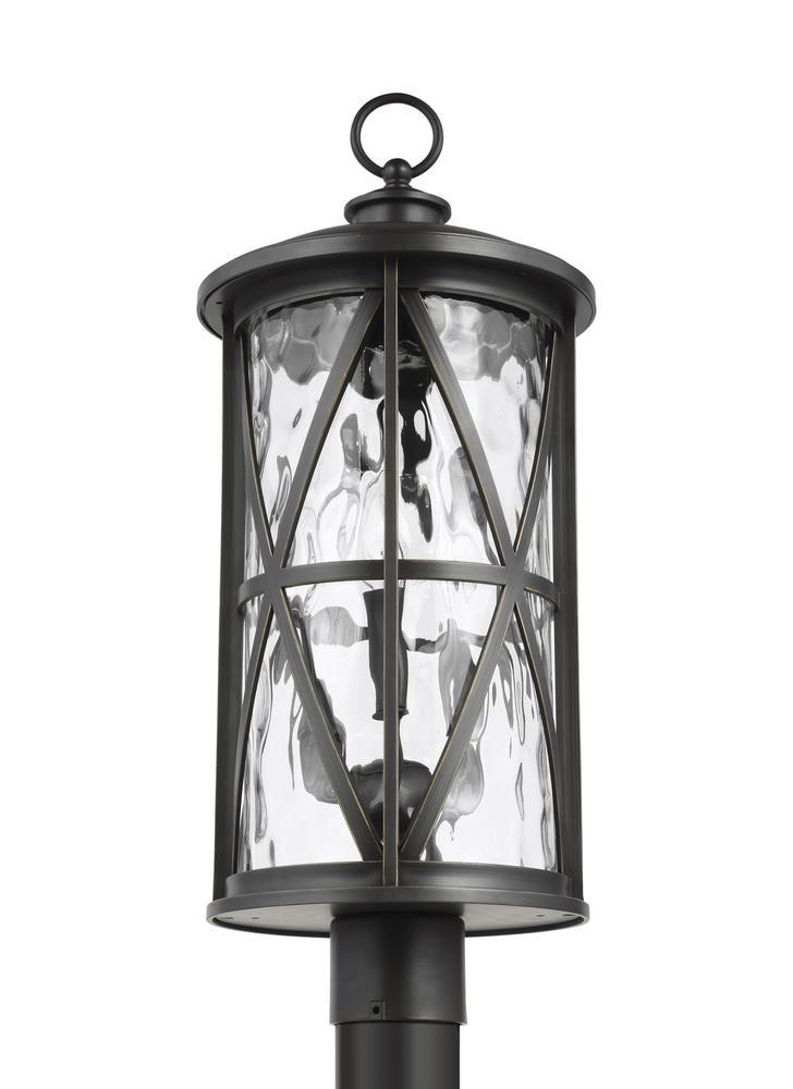 Millbrooke 3 - Light Outdoor Post Lantern