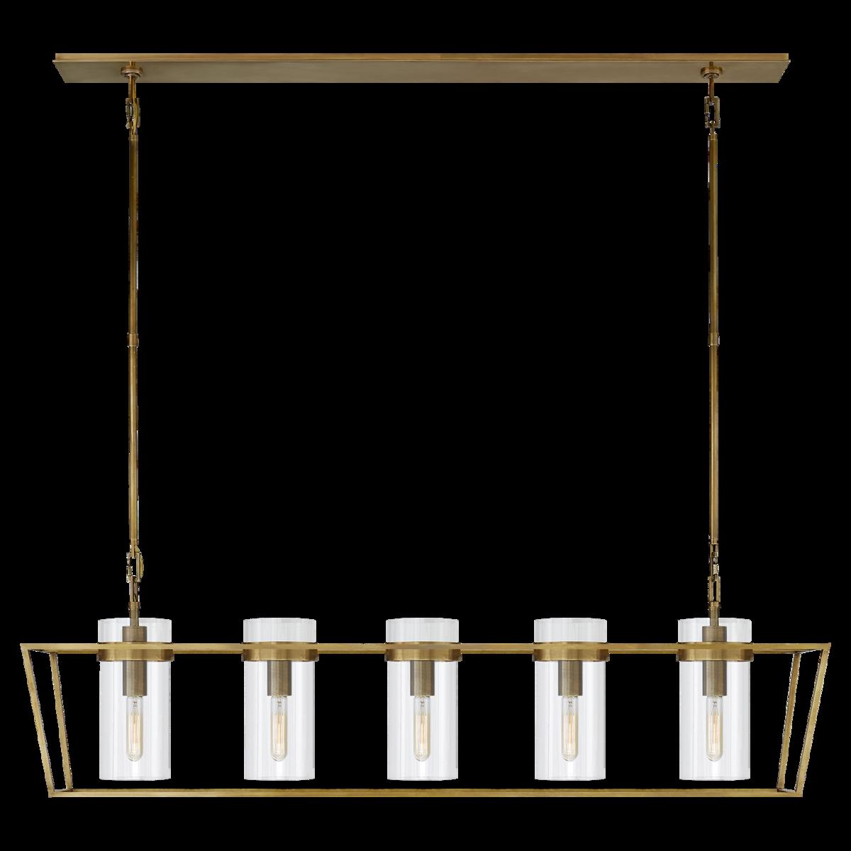 Presidio Large Linear Lantern
