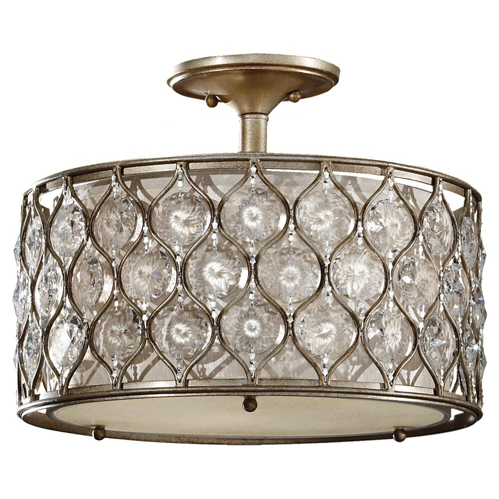 Lucia 3 - Light Indoor Semi-Flush Mount