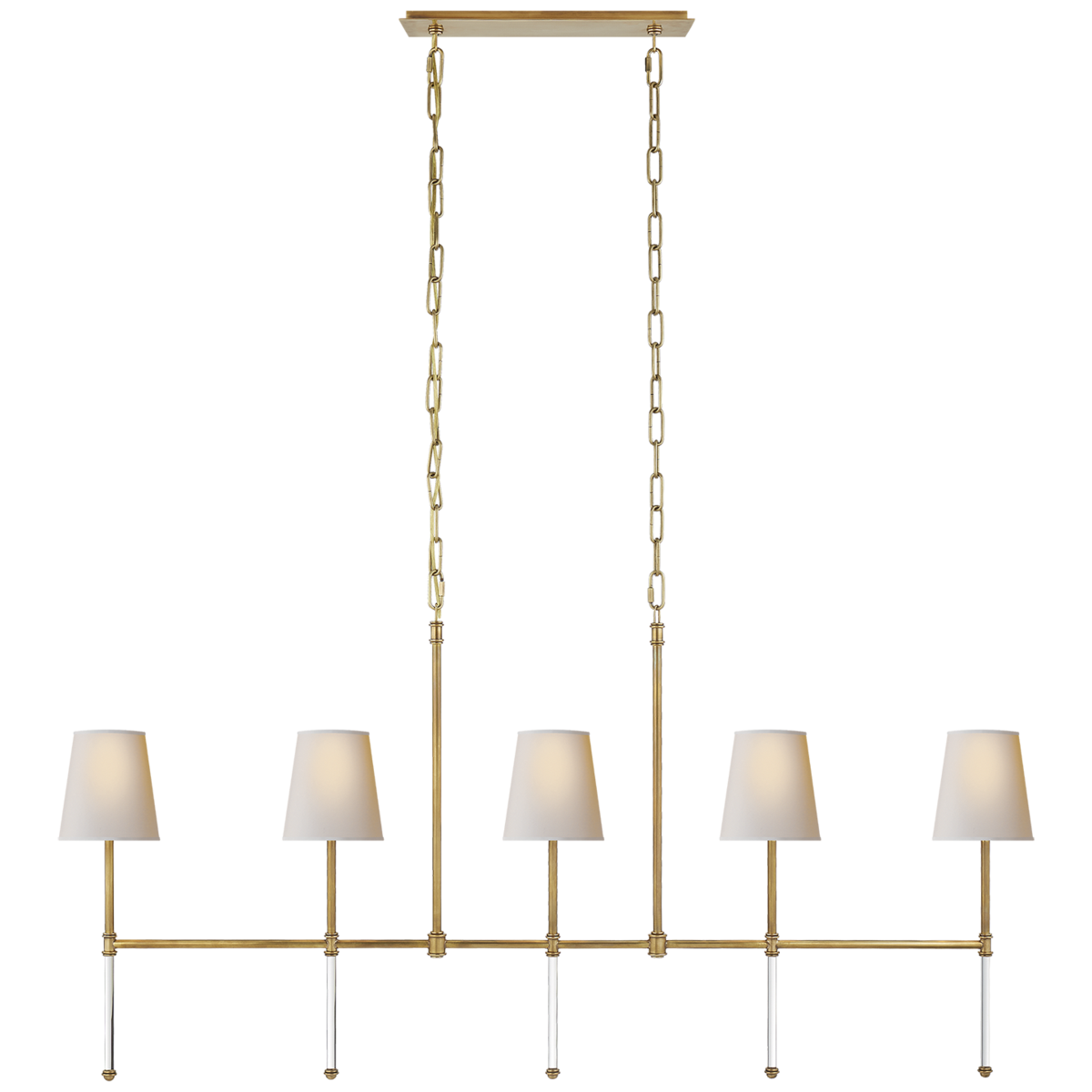 Camille Medium Linear Chandelier