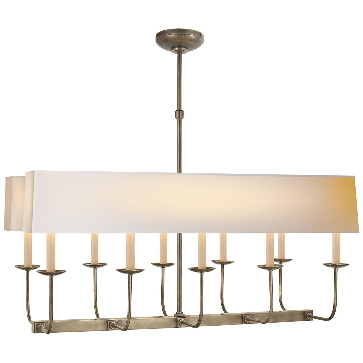 Linear Branched Chandelier